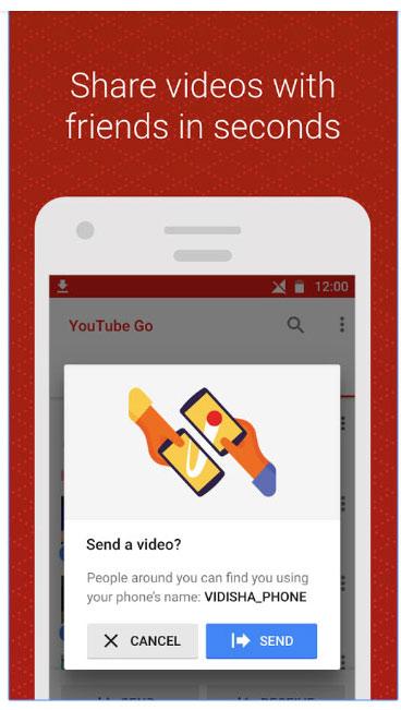 YouTube Go wifi