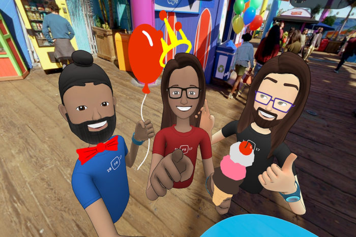 Facebook Space, come fare i selfie virtuali