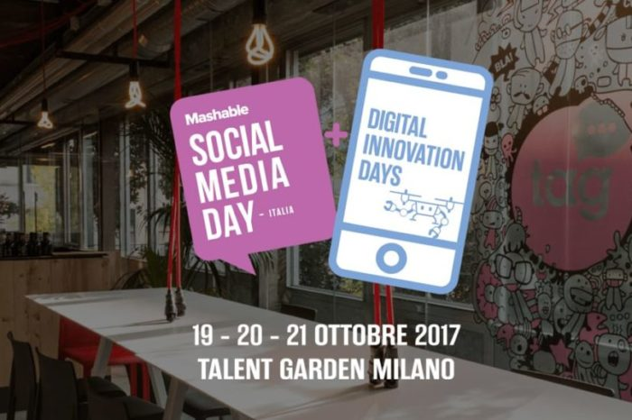 Mashable Social Media Day Italy, appuntamento per il 19-20-21 Ottobre