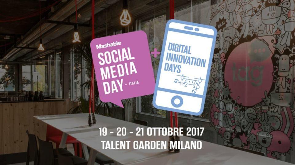 Mashable Social Media Day Italy, appuntamento per il 19-20-21 Ottobre