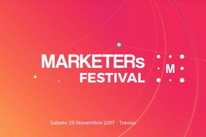 MARKETERs Festival: il 25 Novembre a Treviso la seconda edizione
