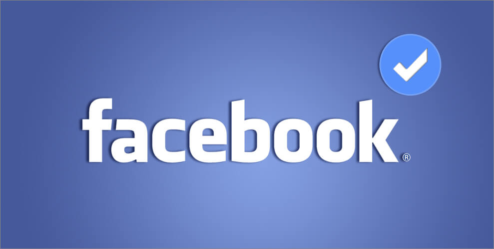 Account verificato su Facebook