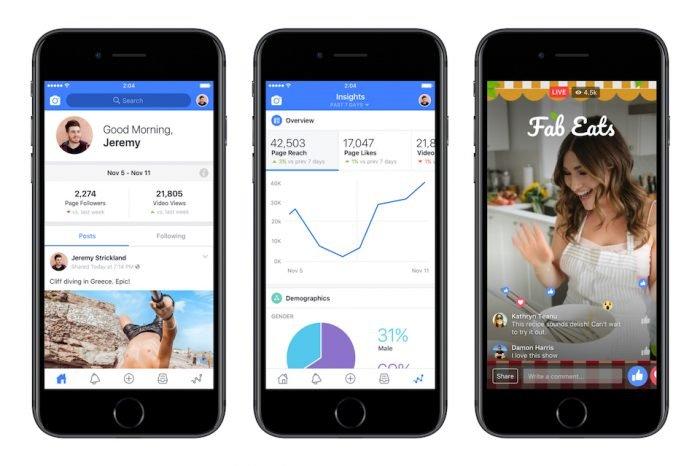 Facebook Creator: come sfruttare l'app per creare contenuti di successo