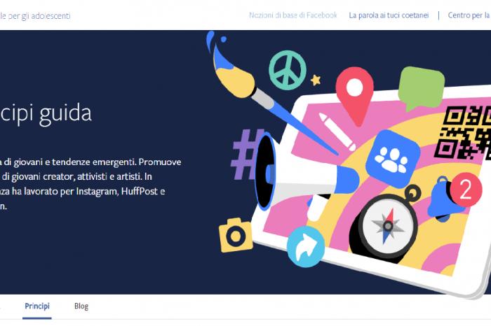 Facebook Youth Portal, arriva il nuovo portare per adolescenti